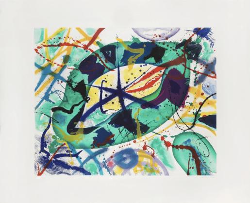 Sam Francis, Trietto I (SFE-074RC), 1991