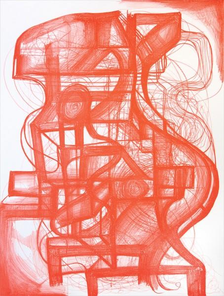 Joanne Greenbaum, Untitled, 2013