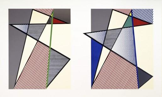 Roy Lichtenstein, Imperfect Diptych, 1988