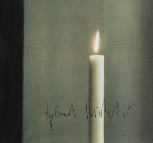 Gerhard Richter, Candle I, 1988