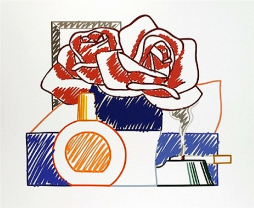 Tom Wesselmann, Scribble Version Of Still Life #58, 1991