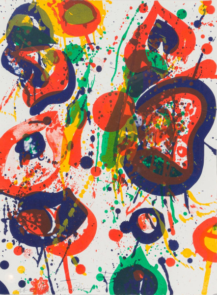 Sam Francis, Untitled #3 (from the Pasadena Box), 1963