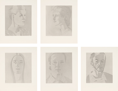 """From """"Give Me Tomorrow"""" (Carter Ratcliff) by Alex Katz"""