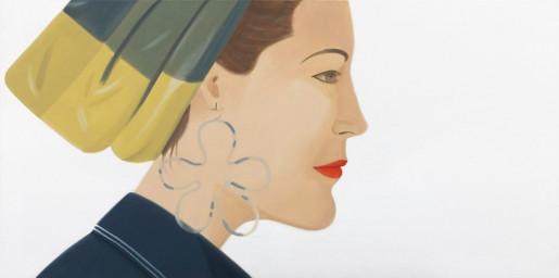 Alex Katz, Ursula, 1990