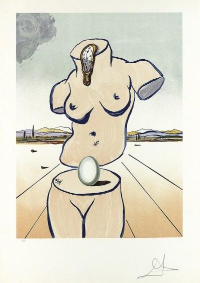 Birth of Venus by Salvador Dalí