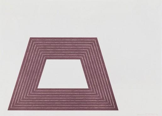 Frank Stella, Ileana Sonnabend, 1972