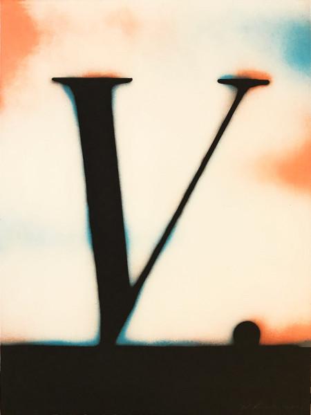 Ed Ruscha, V., 2003