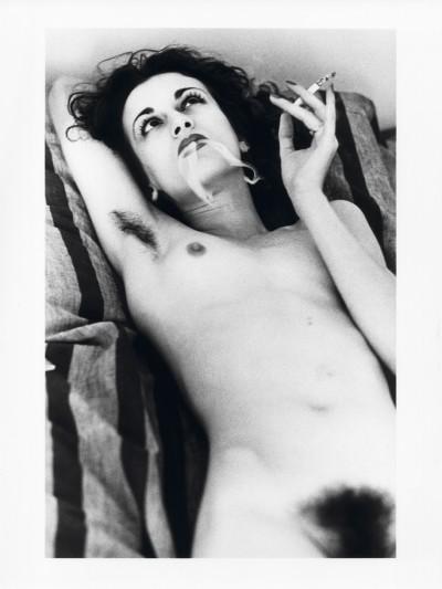 Helmut Newton - Violetta Sanchez, Paris 1979