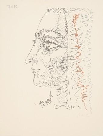 Profil en trois couleurs