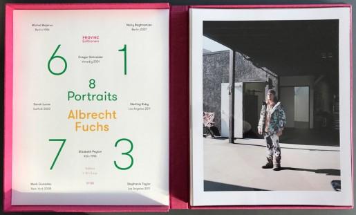 Albrecht Fuchs, 61 - 73 (Michel Majerus, Nairy Baghramian, Sarah Lucas, Mark Gonzales, Stephanie Taylor, Sterling Ruby, Gregor Schneider, Elisabeth Peyton), 2016
