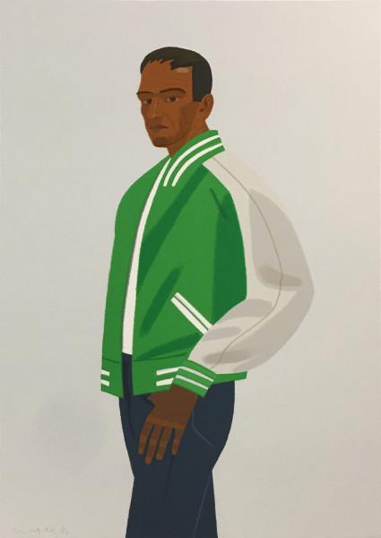 Alex Katz, Green Jacket, 1990