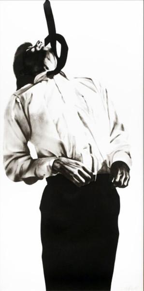 Robert Longo, Eric from Men in the Cities, 1985