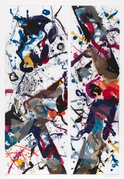 Sam Francis, Untitled, 1985