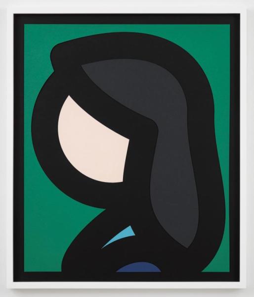 Julian Opie, Paper Head 6, 2019