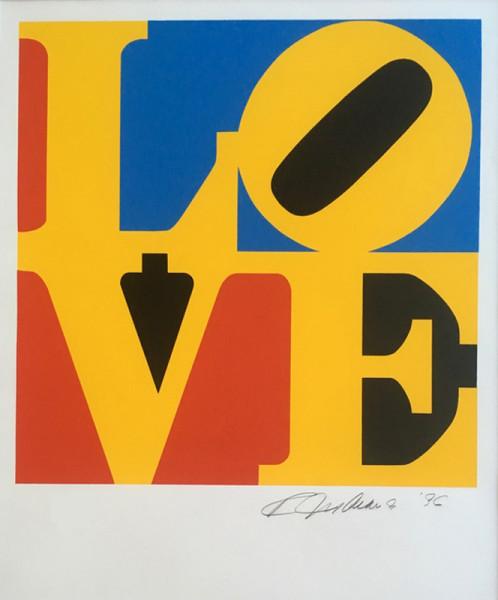 Robert Indiana, The Book of Love, 1996