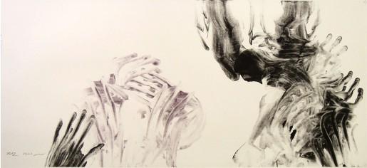 Miriam Cabessa, Untitled (poems by Natan Zach), 2012