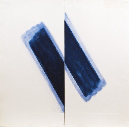 Richard Smith, Large Blue, 1977