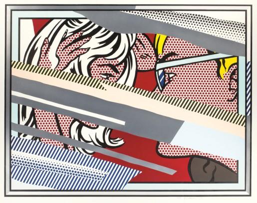 Roy Lichtenstein, Reflections on Conversation, 1990