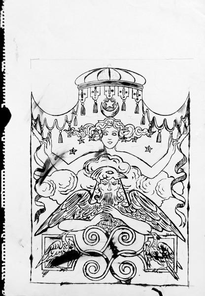Andy Warhol, Fantasy Drawing, 1956