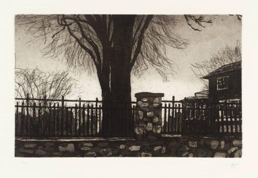 Peter Doig, Rosedale House, 1996