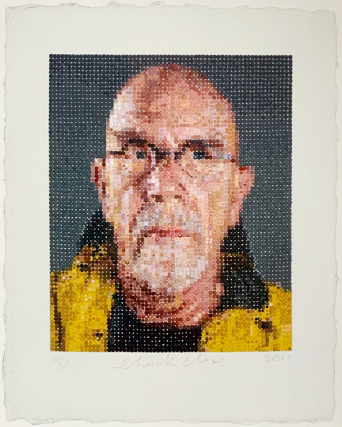 Chuck Close, Self Portrait 1, 2012