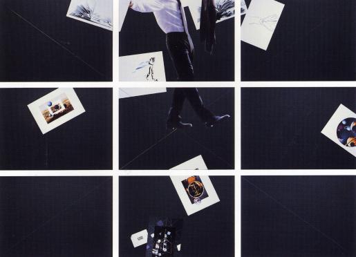 Giulio Paolini, Carte Noire, 1999-2000