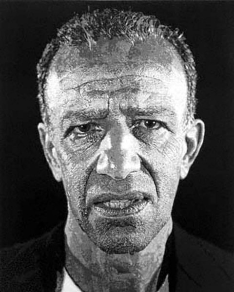 Chuck Close, Alex / Reduction Print, 1993