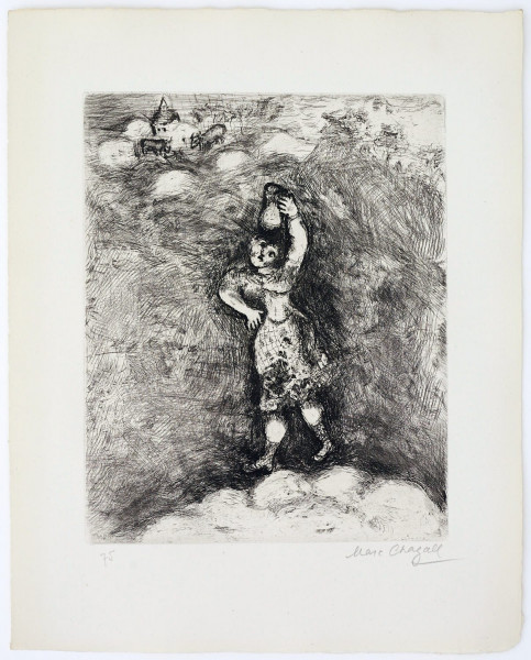 Marc Chagall, The Dairywoman and the Pot of Milk, 1927-1930