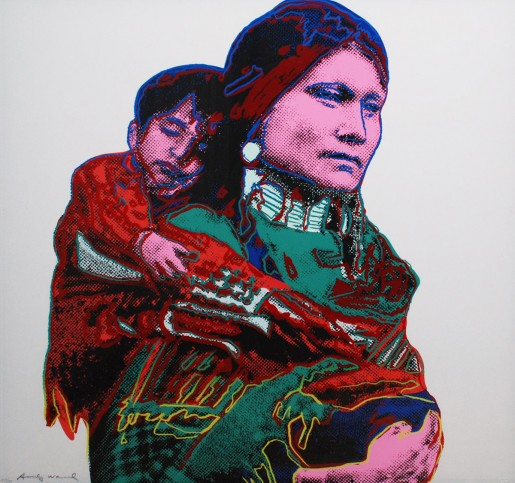 Andy Warhol, Mother And Child FS II.838, 1986