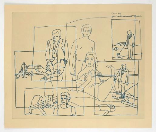 Ida Applebroog, Vellum Sketches I, 2011