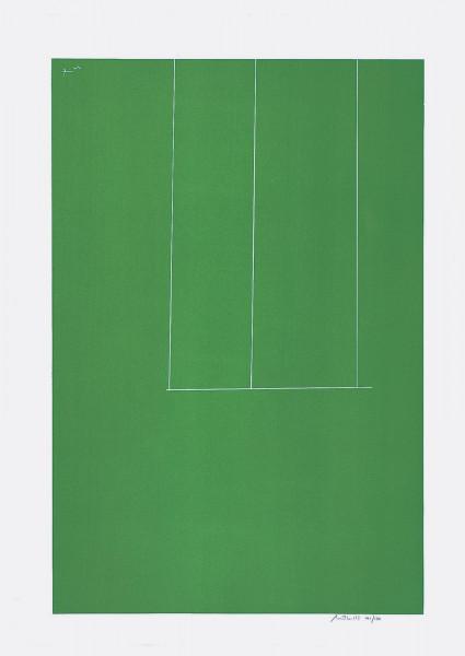 Robert Motherwell, London Series I: Untitled (Green), 1971