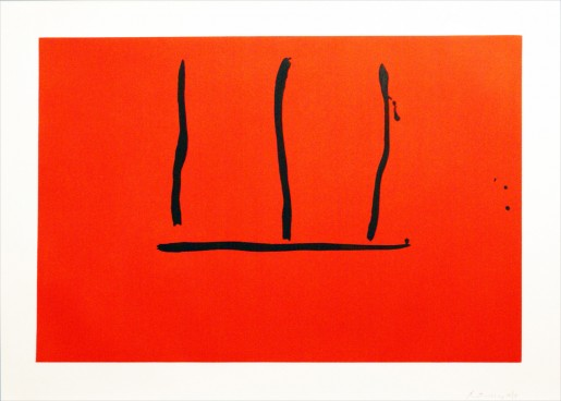 Robert Motherwell, Untitled, 1973