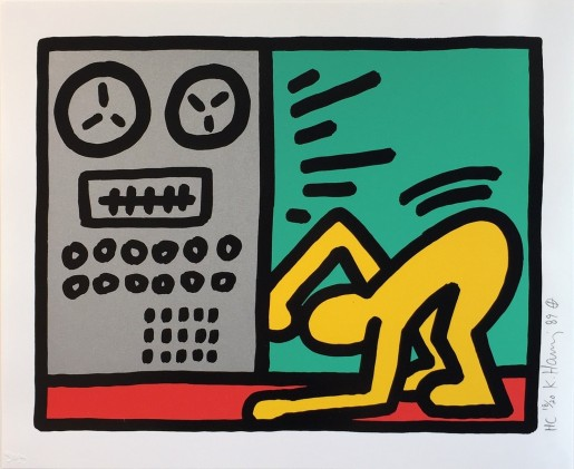 Keith Haring, Pop Shop III (4), 1989