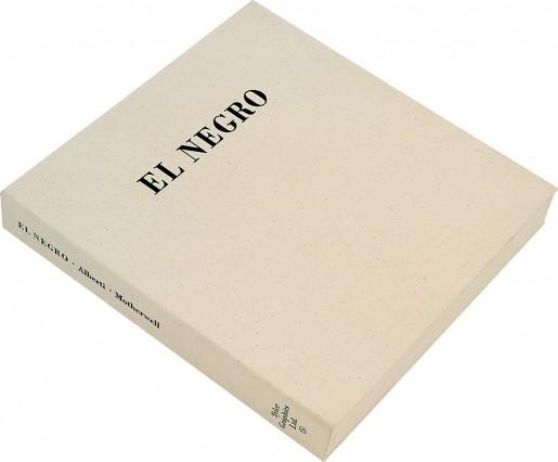 Robert Motherwell, El Negro, 1983