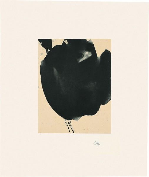 Robert Motherwell, Octavio Paz Suite: Nocturne VI, 1988
