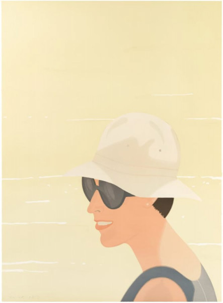 Alex Katz, Margit Smiles, 1994