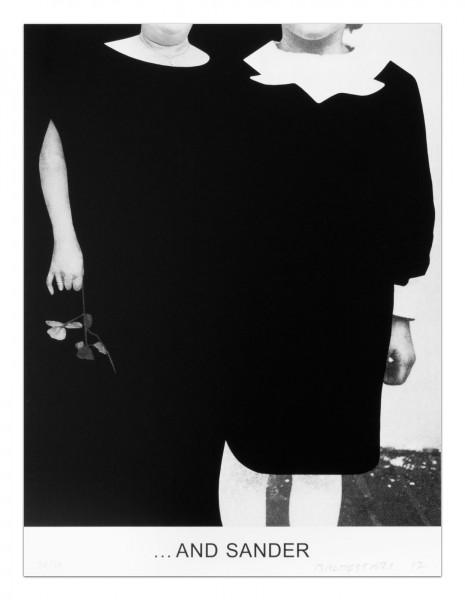 John Baldessari, Double Bill (Part 2):...and Sander, 2012