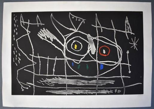 Joan Miró, Couple of Birds III | Couple d'Oiseaux III, 1966