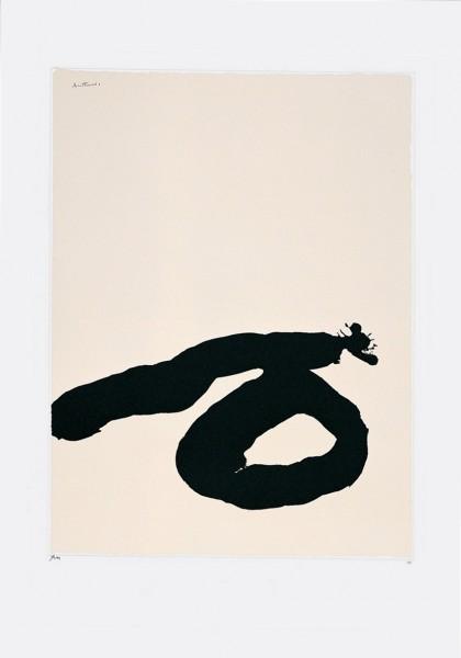 Robert Motherwell, Africa Suite No. 7, 1970