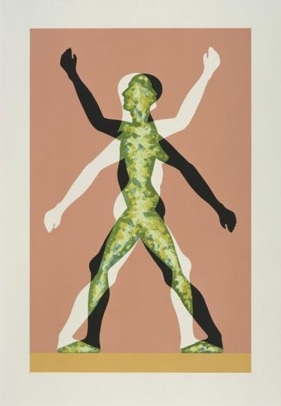 Male/Female by Jonathan Borofsky