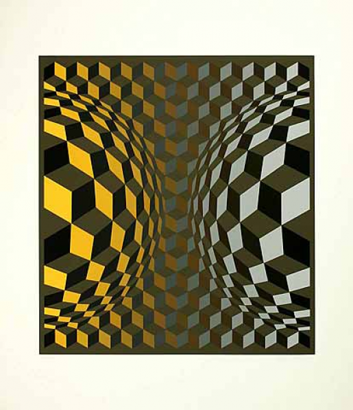 Victor Vasarely, Gordes Cheyt OND, 1971