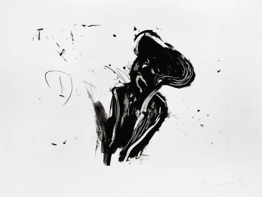 Jannis Kounellis, Fumo di pietra II, 1992