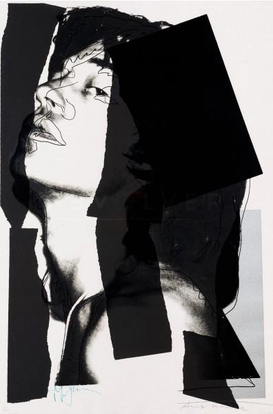 Andy Warhol, Mick Jagger (FS II.144), 1975