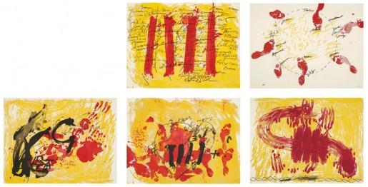 Antoni Tàpies, Suite Catalana, 1972