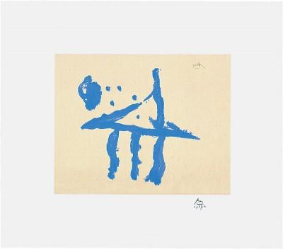 Summer Trident by Robert Motherwell