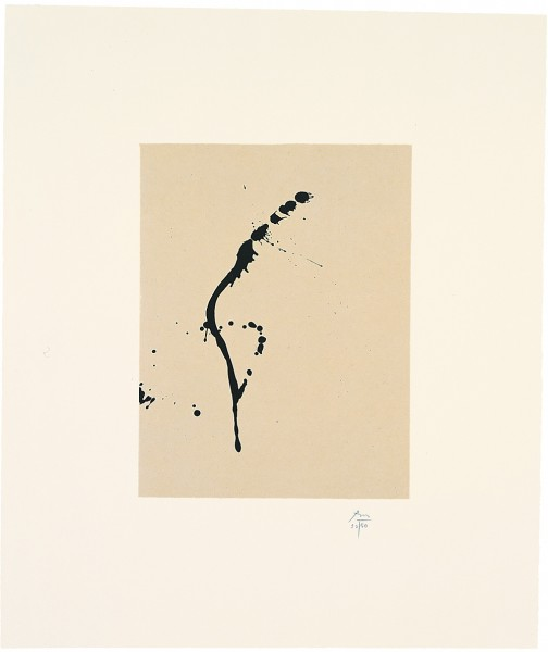 Robert Motherwell, Octavio Paz Suite: A Throw of the Dice, 1988