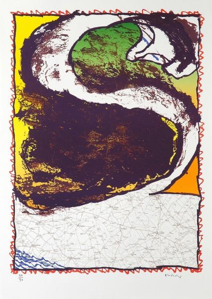 Pierre Alechinsky, Rue Serpente, 1981