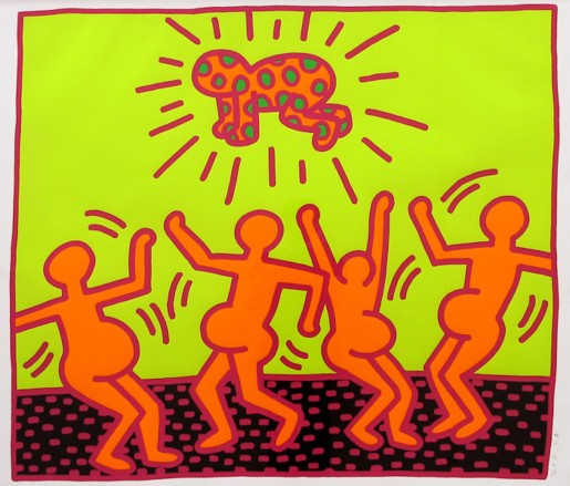 Keith Haring, Fertility #1, 1983