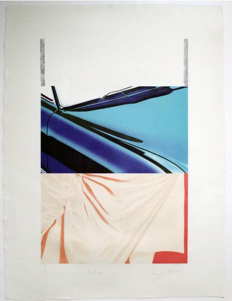 James Rosenquist, 1, 2, 3 Outside, 1972