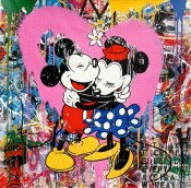Mickey & Minnie (Pink)